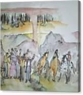 Western Art My Way.album  Canvas Print