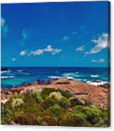Western Australia Beach Panorama Canvas Print