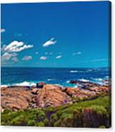 Western Australia Beach Panorama Margaret River Canvas Print