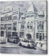Western Avenue In Muskegon, Michigan Canvas Print