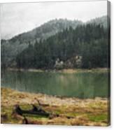 Western Cascades River Canvas Print