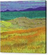Western Edge Prairie Dream Canvas Print