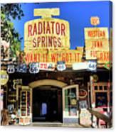 Western Junk Shop California Adventure  Canvas Print
