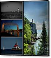 Western Lake Superior Canvas Print