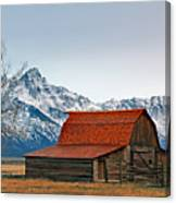 Western Living 2 Canvas Print