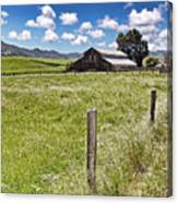 Western Ranch Canvas Print
