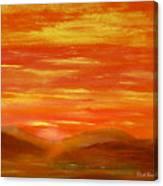 Western Skies Canvas Print