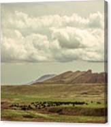 Western Storm Canvas Print