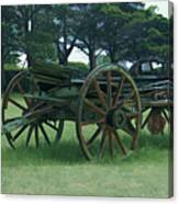 Western Wagon Canvas Print