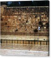 Empty Western Wall Canvas Print