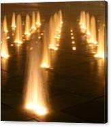 Westin Crown Center Dancing Waters Canvas Print