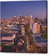 Westlake Los Angeles Aerial Canvas Print