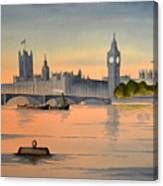 Westminster And Big Ben  Canvas Print