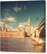 Westminster Big Ben Canvas Print