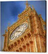 Westminster Clock Tower Canvas Print