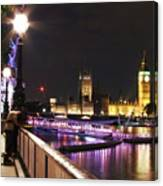 Westminster Embrace Canvas Print