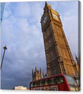 Westminster Station Canvas Print