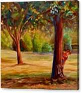 Westmount Park Montreal Canvas Print