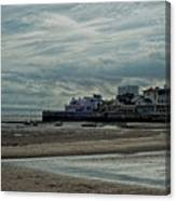 Weston - Super -mare  -  Outflow - Hdr Canvas Print