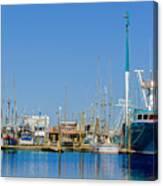 Westport Docks Color Canvas Print