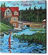 Westport Grist Mill Canvas Print