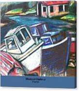 Westport Harbour Canvas Print