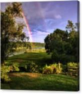 Westport Rainbow Canvas Print