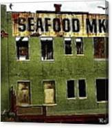 Westport Washington Seafood Market Canvas Print