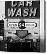Westside Highway Car Wash Nyc Canvas Print