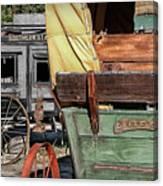 Westward Wagons Canvas Print