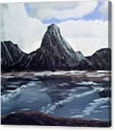 Wet Mountains Canvas Print