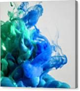 Wet Smoke  Canvas Print