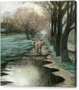 Wet Spring Canvas Print
