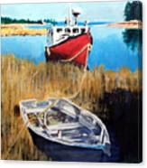 Wetland Taxi Canvas Print