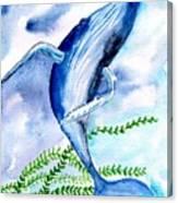 Whale 6 Canvas Print