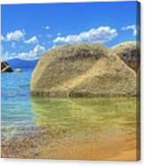 Whale Beach Lake Tahoe Canvas Print