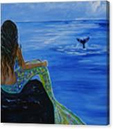 Whale Watcher Canvas Print