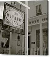 Whaler's Inn Canvas Print