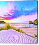 Wharariki Beach Canvas Print