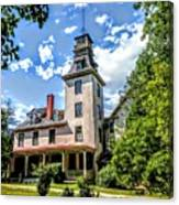 Wharton Mansion Canvas Print