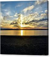 What A Sunset Canvas Print