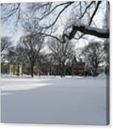What I Love About Winter Canvas Print