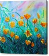 What'a Up Buttercup? Canvas Print