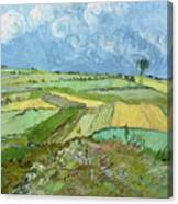 Wheat Fields After The Rain, The Plain Of Auvers Canvas Print