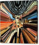 Wheel Abstract Canvas Print