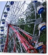 Wheel At The Fair Canvas Print