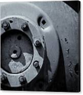 Wheel Bolts In Metal Canvas Print