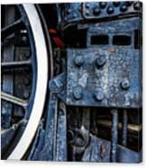 Wheel In Black II Canvas Print
