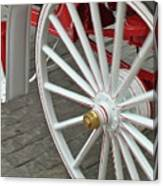 Wheel Motion Canvas Print
