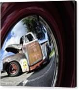 Wheel Reflections Canvas Print